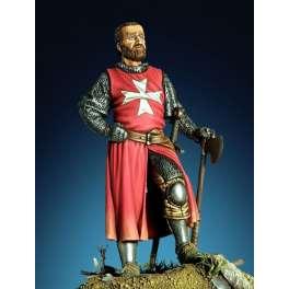 Pegaso models figure kits. Saint John order knight XIII century