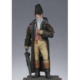 Metal Modeles,54mm,1st Empire middle - class man in coat.Metal figure kits.
