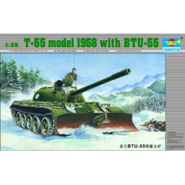 Trumpeter 1/35e Char T-55 avec systeme BTU-55
