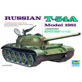 Trumpeter 1/35e Char moyen Soviétique T-54A.