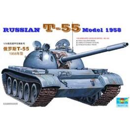 Trumpeter 1/35e Char moyen Soviétique T-55 Modèle 1958.