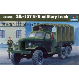 Camion Soviétique ZIL 157 6X6. Maquette Trumpeter 1/35e