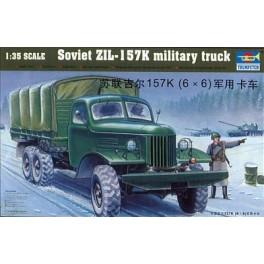 Camion Soviétique ZIL 157K. Maquette Trumpeter 1/35e
