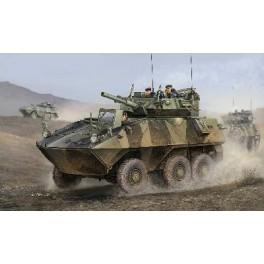 Cougar 6X6 de l'armée canadienne. Maquette Trumpeter 1/35e