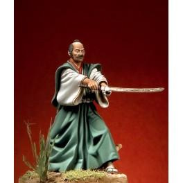 Samurai figure kits with Daisho sword, Azuchi-Momoyama period