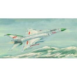 """Trumpeter 1/72e SHENYANG F-8-II """"FINBACK B""""  Chinois."""