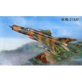 Trumpeter 1/32e CHASSEUR SOVIETIQUE MIG-21 MF
