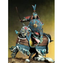 Pegaso models.90mm.Figurine de Guerrier Cataphracte.