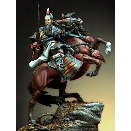Pegaso models.90mm.Guang You, Chinese general figure kits.