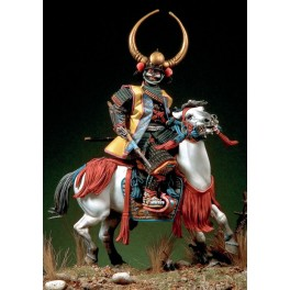 Figure kits.Daimyo, Mounted Japanese War Lord, Azuchi-Momoyama period (1568-1600).