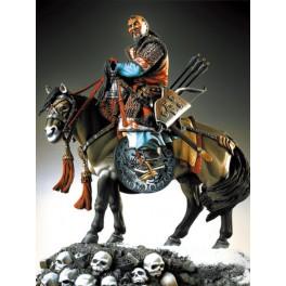 Pegaso models 90mm Figurine de Gengis khan XIIIe siècle