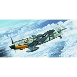 Trumpeter 1/24e MESSERSCHMITT Bf 109 G-6 (début de production)