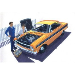 "64 FORD FALCON SPRINT HARDTOP ""street & strip"" Maquette voiture Trumpeter 1/25e"