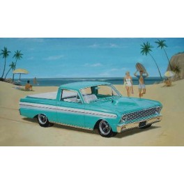 "FORD 65  RANCHERO PICKUP ""custom plus"" Maquette voiture Trumpeter 1/25e"