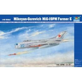 MIG-19PM Farmer E .Maquette avion Trumpeter 1/48e