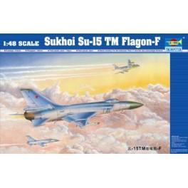 SUKHOI SU-15TM FLAGON-F . Maquette avion Trumpeter 1/48e