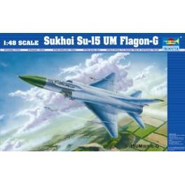 SUKHOI SU-15UM FLAGON-G. Maquette avion Trumpeter 1/48e