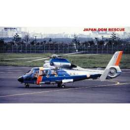 "Trumpeter 1/48e HELICOPTERE ""DAUPHIN"" PROTECTION CIVILE JAPONAISE - 2001"