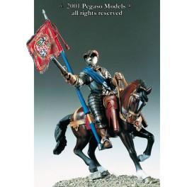 Pegaso models.54mm.Figurine de Cavalier,savoie,1589.