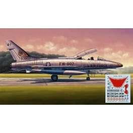 Trumpeter 1/48e NORTH AMERICAN F-100F SUPER SABRE - SPECIAL FRANCE DJIBOUTI