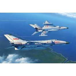 """Trumpeter 1/48e J-8 IIB """"FINBACK B"""" CHASSEUR FORCE AERIENNE CHINE POPULAIRE - 2011"""
