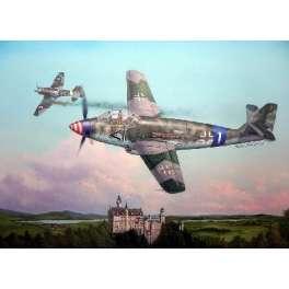 MESSERSCHMITT Me509 CHASSEUR ALLEMAND. Maquette avion Trumpeter 1/48e