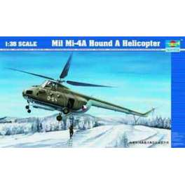 Trumpeter 1/35e Mil Mi-4A Hound A HELICOPTERE