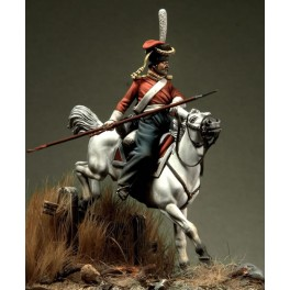 Figure kits.Cossack of the Imperial Guard, Russia 1812.