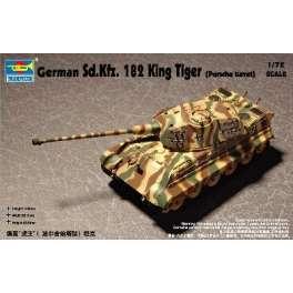 Sd Kfz 182 KING TIGER . Maquette de char. Trumpeter 1/72e