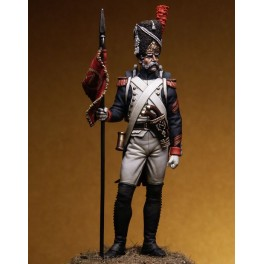 Figure kits.Grenadiers of the guard, Sergeant Second Eagle Bearer 1810.