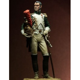 Napoleonic figure kits.Officer of the Empress ' Dragoons, 1815.
