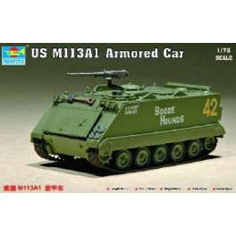 Trumpeter 1/72e  US M 113A1 VEHICULE BLINDE 1968