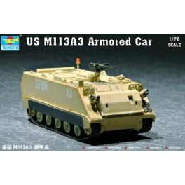 Trumpeter 1/72e US M 113A3 VEHICULE BLINDE