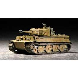 CHAR LOURD ALLEMAND TIGRE I (Fin de production). Maquette de char. Trumpeter 1/72e