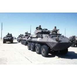 Trumpeter 1/72e USMC LAV-25 (8X8) Light Armored Vehicle