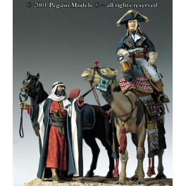 Pegaso models 54mm.Bonaparte en Egypte en 1798-99.