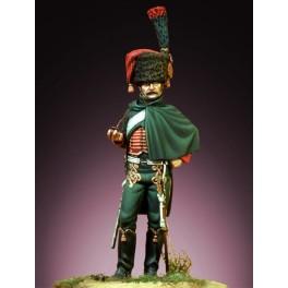 Pegaso Models 54mm. Chasseur de la Garde 1812-1815. Figurine à peindre.