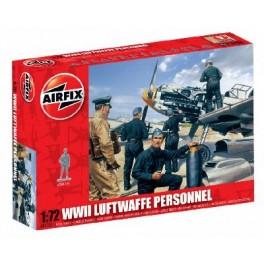 Airfix 1/72e PERSONNEL DE LUFTWAFFE 2EME GUERRE MONDIALE