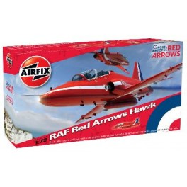 Airfix 1/72e BAe RED ARROWS HAWK