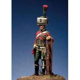 Pegaso models.54mm.Guide de Poniatowski trompette 1803-13