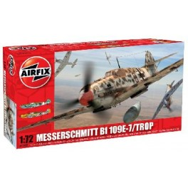 Airfix 1/72e MESSERSCHMITT BF 109E-7 TROPICAL