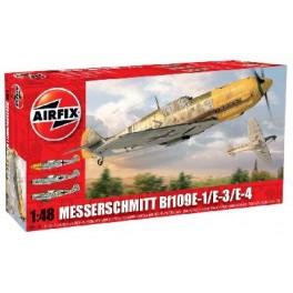 Airfix 1/48e MESSERSCHMITT 109E-1/E-3/E-4
