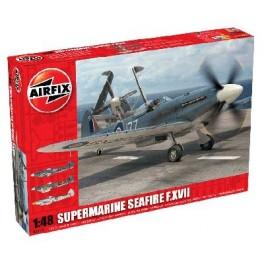 SUPERMARINE SEAFIRE XVII. Maquette d'avion. Airfix 1/48e