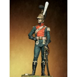 Napoleonic figure kits.Officer of the Lancers of the line, France 1811.