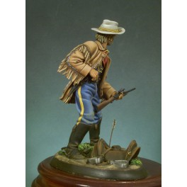 Andrea miniatures,90mm.U.S. Cavalry Officer (1876) figure kits.