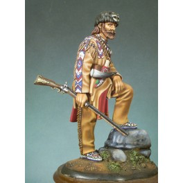 Andrea miniatures,90mm.Montain Man (1840) figure kits.