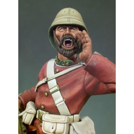 Andrea miniatures,90mm.British Colour Sergeant figure kits.