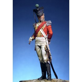 Pegaso .75mm.Figurine historique d'Officier du 71e Highlanders Light Infantery.