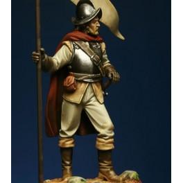 Crécy Models.Border Reiver 1600 54mm - figurine à peindre-