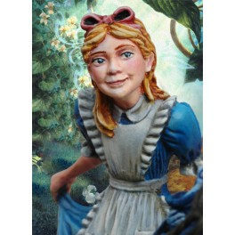Andrea miniatures,54mm figure kits.Alice in Wonderland.